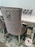 Arianna Mirrored Grey Marble  Effect Dining Table Set + Majestic Chairs