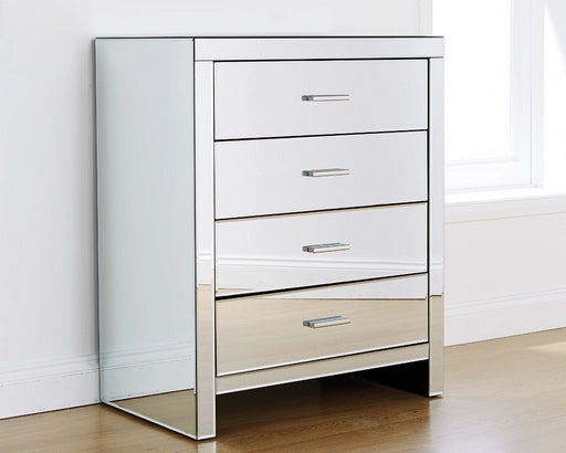 VENETIAN 4 Drawer Chest - MIRRORED