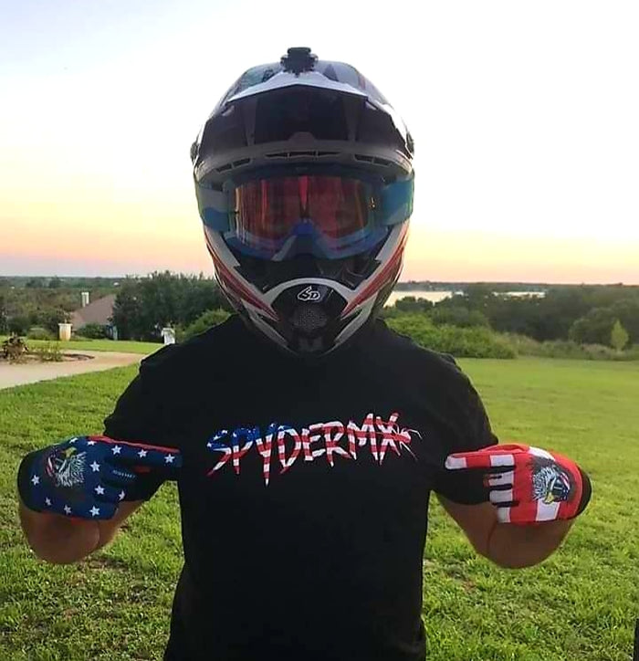 Mens Flag Shirt - Spyder MX