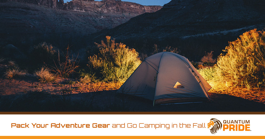 Pack Your Adventure Gear and Go Camping in the Fall