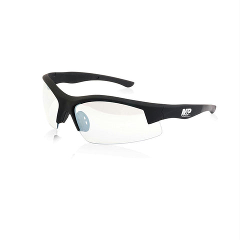 M&P Super Cobra Half Frame Shooting Glasses Rubberized Clear