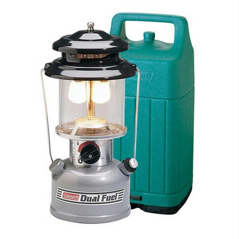 Coleman Dual Fuel Mantel Lantern with Hard Carry Case - Quantum Pride