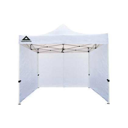 Caddis Rapid Shelter Sidewall 10x10 White - Quantum Pride