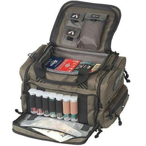 G.P.S. Sporting Clays Bag w-Rain Flap Olive GPS-1411SC