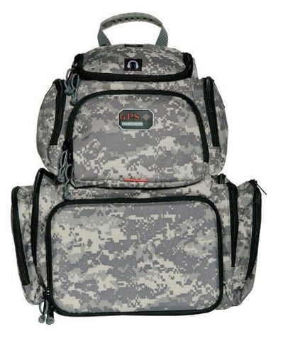 G.P.S. Handgunner Backpack. Digital Camo. GPS-1711BPDC
