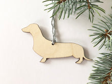 Pet Silhouette Christmas Ornaments