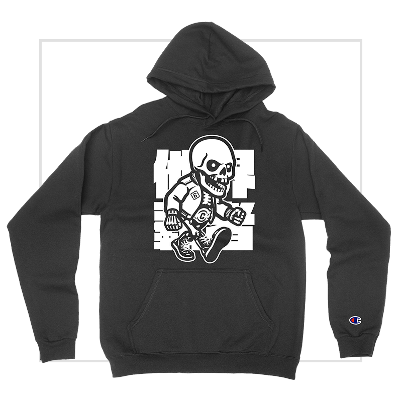 Death Champion Pullover Hooded Sweatshirt