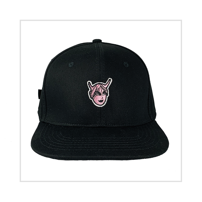 Black Demon Bride 6-Panel Baseball Cap