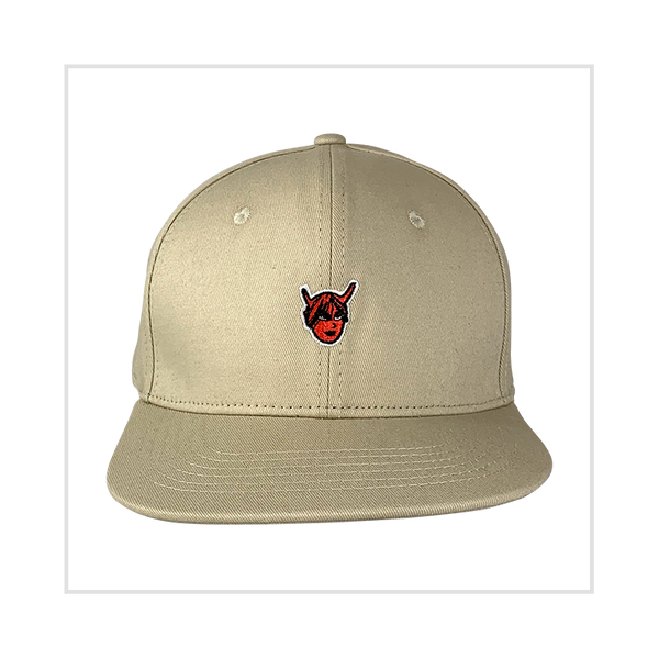Khaki Demon Bride 6-Panel Baseball Cap