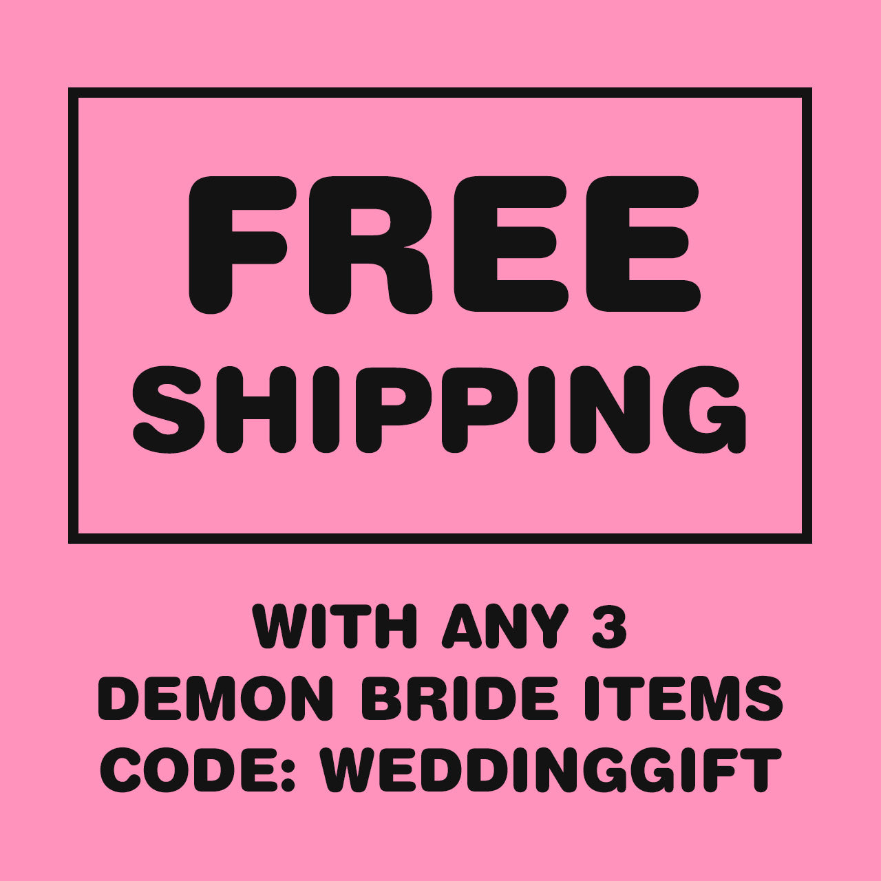 Demon Bride 3x5' Wall Flag
