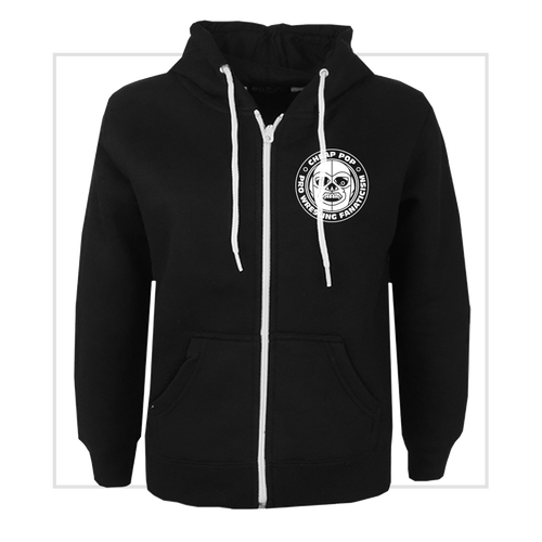 Dokuro Mark Logo Zip-Up Hoodie