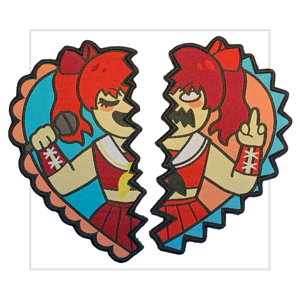 Two Faces of Maki Patch Set