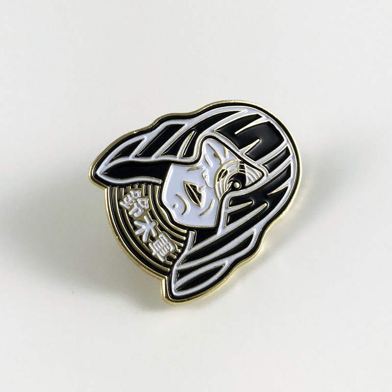 Lonely Warrior Pin