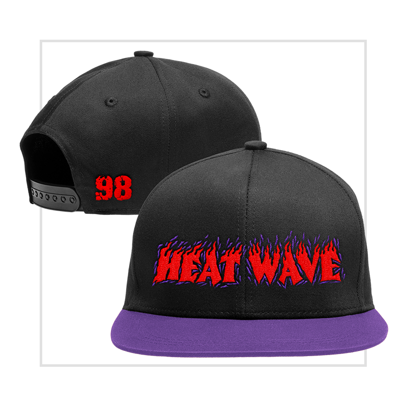 Heat Wave 98' Snapback Baseball Cap