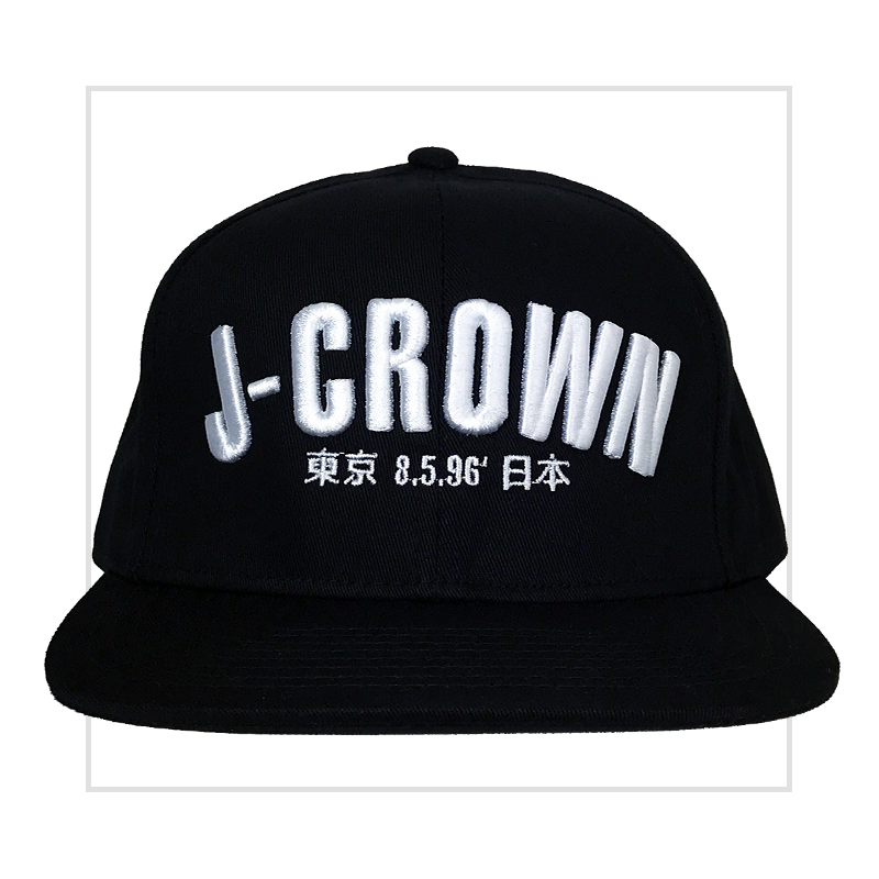 J-Crown 6-Panel Baseball Cap w/Champions Pin Set
