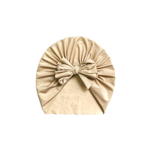 Honey Beige Swim Bow