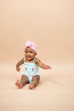 Load image into Gallery viewer, UPF Baby Pink Swim Knot