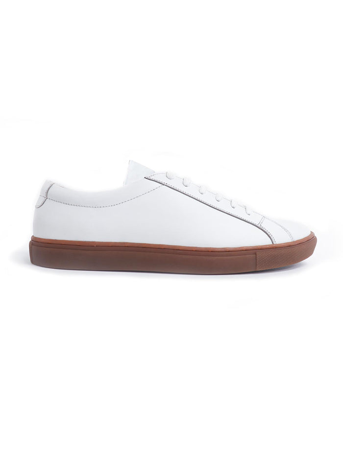 Royal White On Gum Sneaker