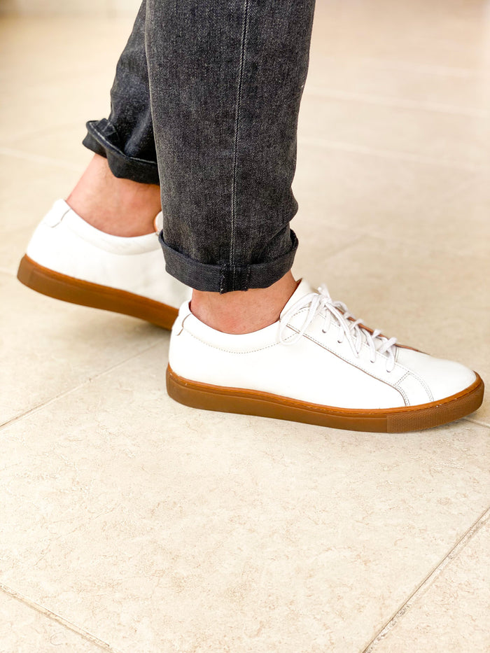 White On Gum Sneaker