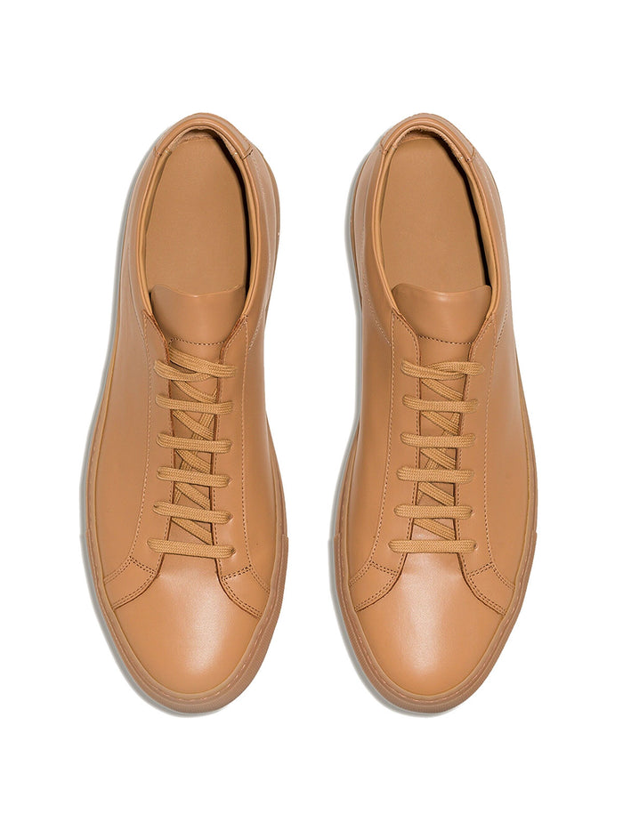 Royal Tan On Gum Sneaker