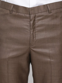 Slim Fit Brown Suit Pant