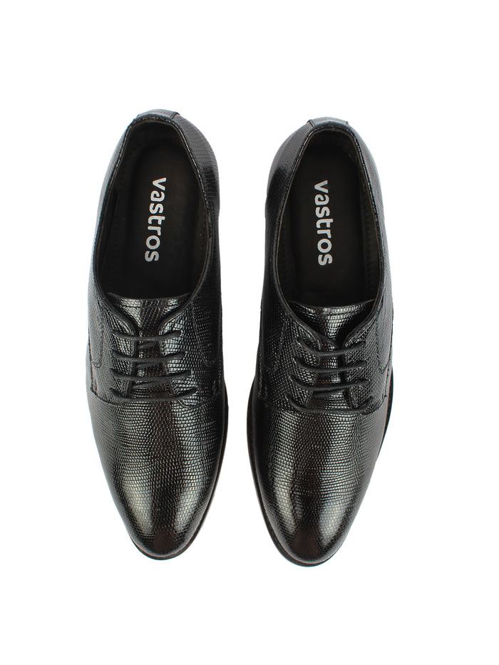 Men's Textured Derby - Black