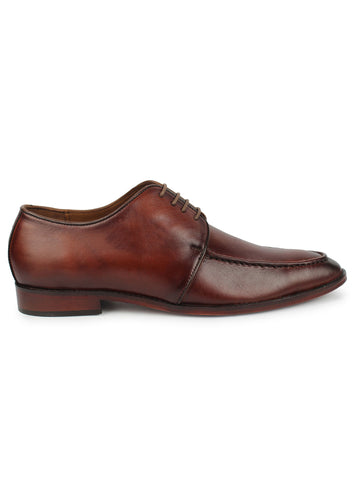Mens Derby - Brown