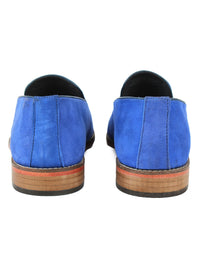 Suede Loafer - Blue