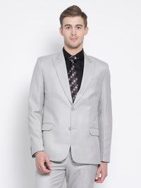 Slim Fit Grey Suit Jacket