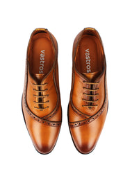 Men's Brogues - Brown
