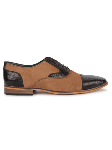 Two Toned Oxford - Brown