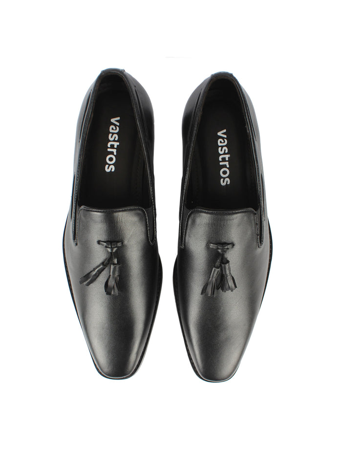 Loafer with Tassel - Black