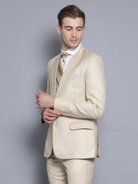 Slim Fit Khaki Suit Jacket