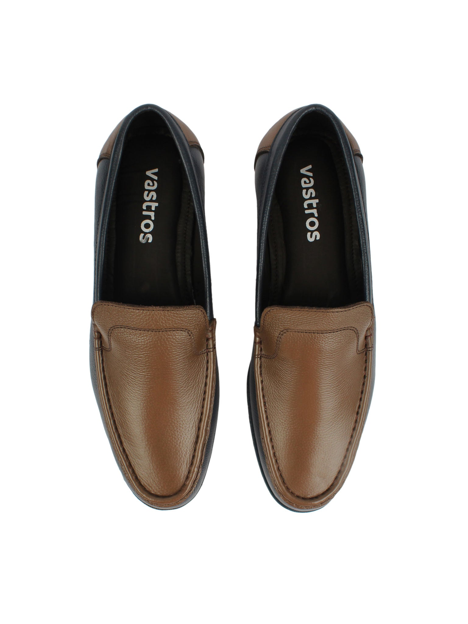 Casual Loafer- Brown and Blue