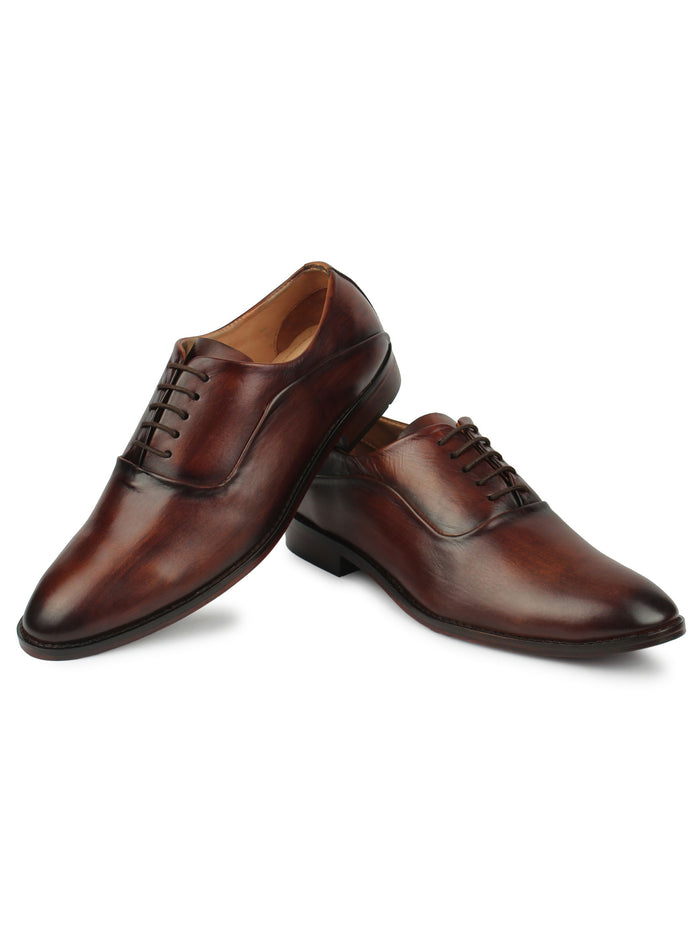 Men's Oxfords - Brown