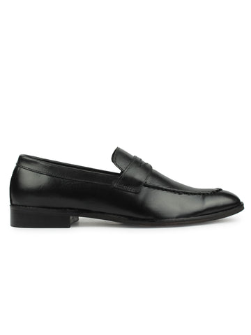 Penny Loafers - Black