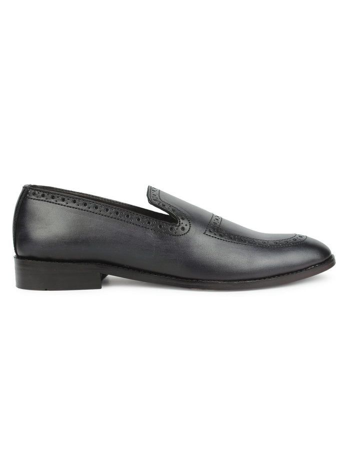 Brogue Loafers - Black