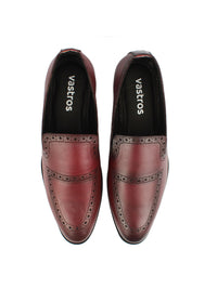 Brogue Loafers - Oxblood