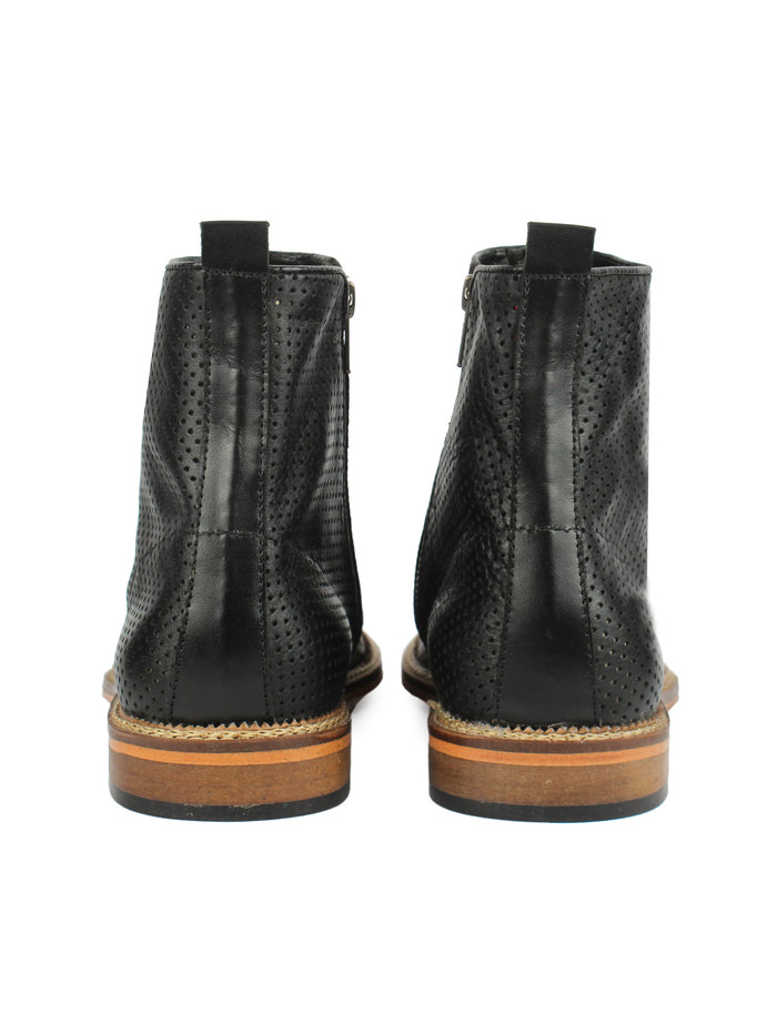 Zipper Boots - Black