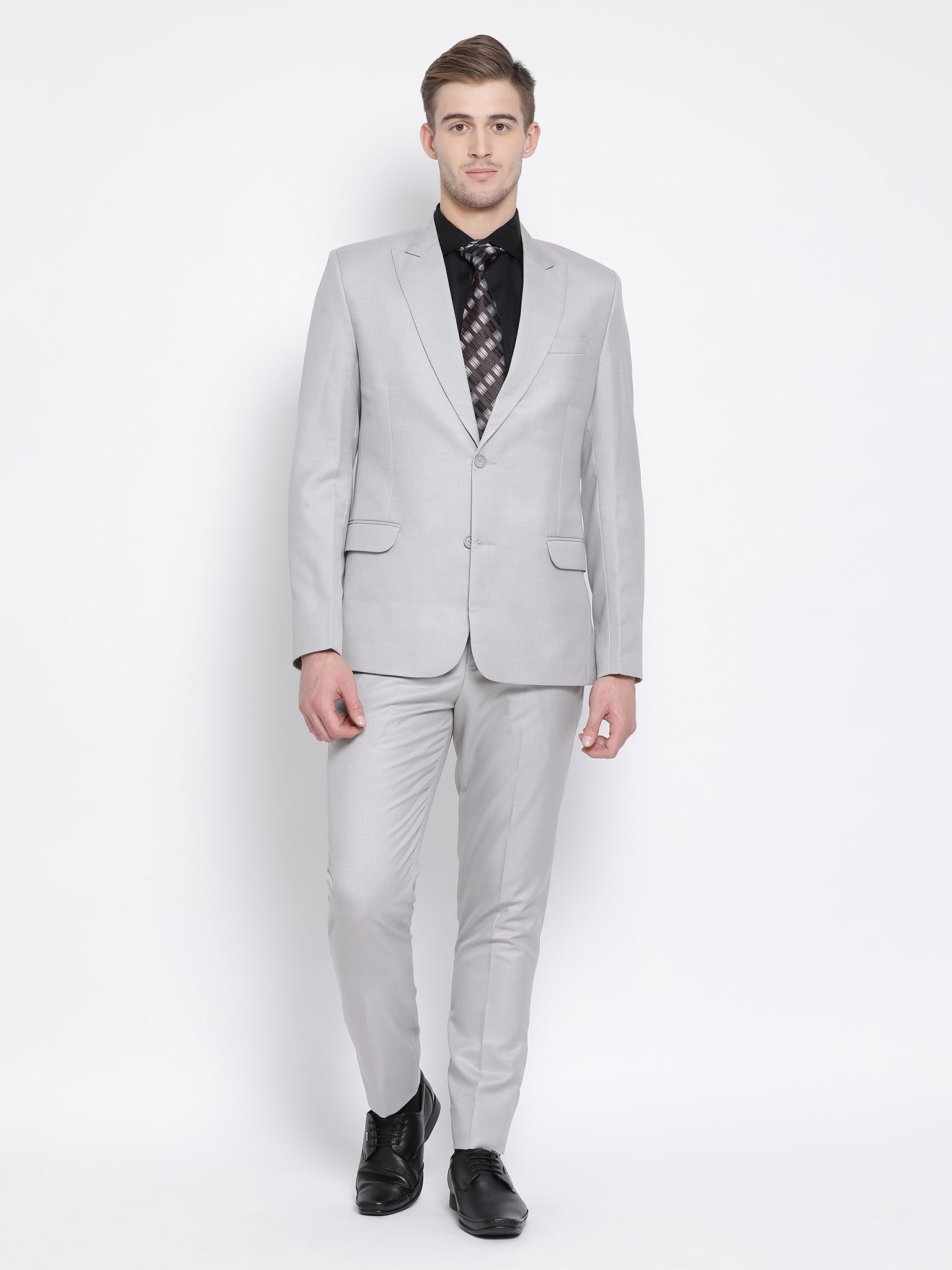 Slim Fit Grey Suit