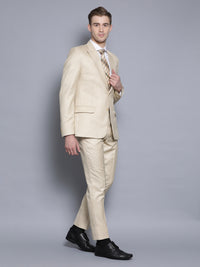 Slim Fit Khaki Suit