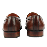 Loafer with Tassel - Brown