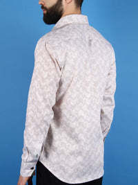 zen garden shirt model back image