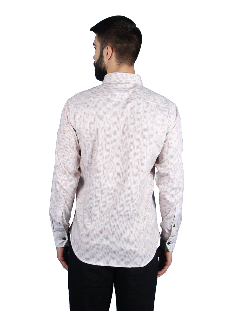 zen garden shirt fit back image