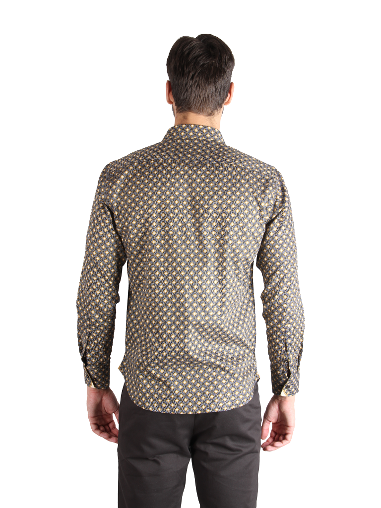bright array shirt fit back image