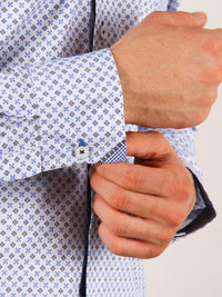 gentle flurry shirt model cuff image