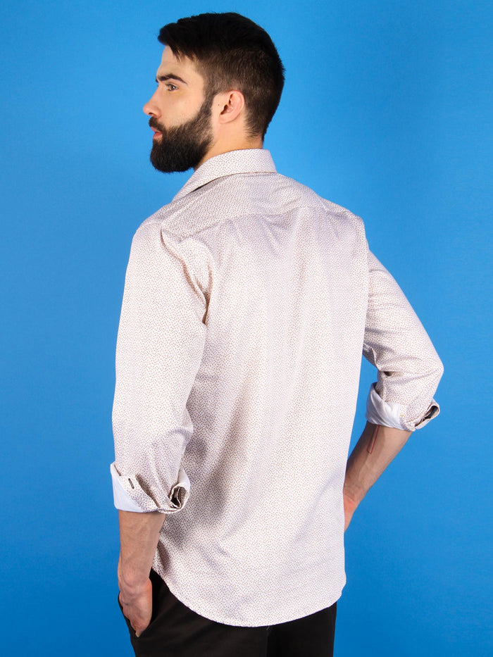 terra firma shirt model back image