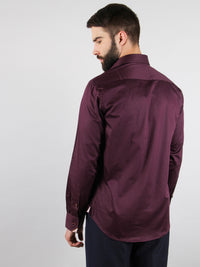 grape vine shirt model back image