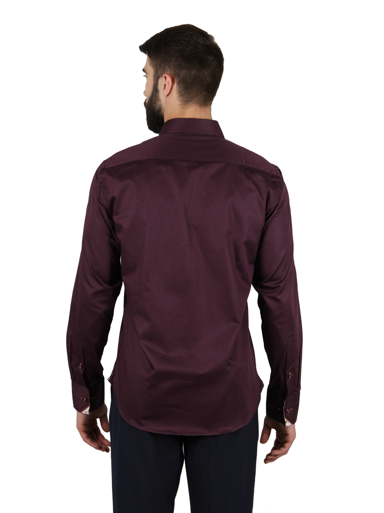 grape vine shirt fit back image