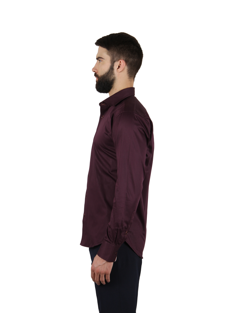 grape vine shirt fit left side image